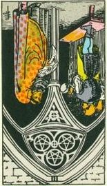 Three of Pentacles - reversed