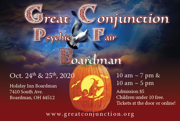 Great Conjunction Fall Psychic Fair in Boardman