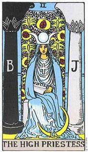 tarot high priestess