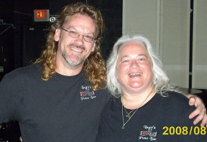 "Deborah ""Ingy"" Ingersoll and  Great Conjunction Co Founder Joe Thornton in 2008"